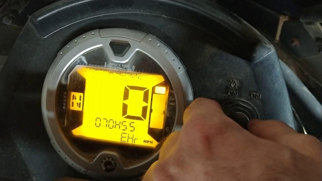 2008 Can Am Outlander 650 intermittent crank no start