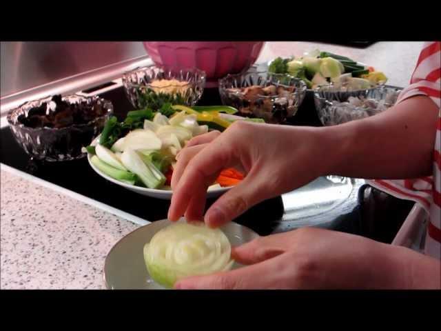 Renmeis fødselsdags madlavning