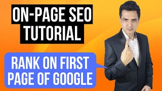 On-page SEO Tutorial - Rank Any Website or Blog on 1st Page of Google in 2020 | Pritam Nagrale