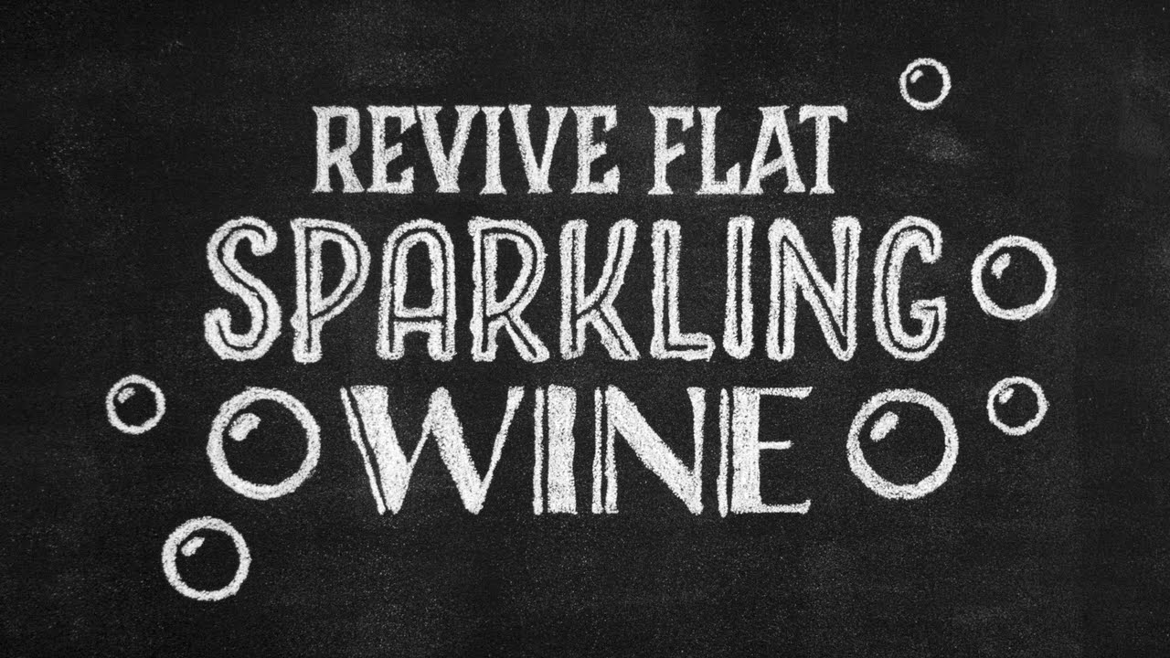 how to make sparkling wine youtube