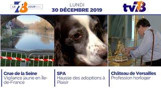 7/8 Le Journal. Edition du lundi 30 décembre 2019