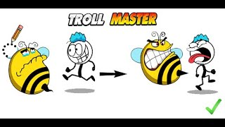 Troll Master Draw One Part Gameplay | Mobile