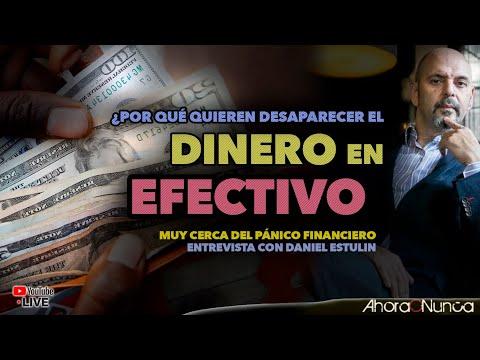 ¿Por qué van a eliminar el Dinero en Efectivo? | Muy cerca del Pánico Financiero | Daniel Estulin