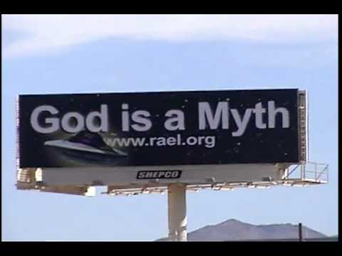 Atheist Billboard - Las Vegas, NV - the Raelians - Cam footage