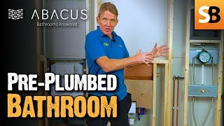 Pre-Plumbed Bathroom - The Abacus Working Wall