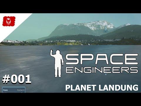 Space Engineers Planets 001 - Willkommen auf den Planets von SE - Hydrogen Alarm