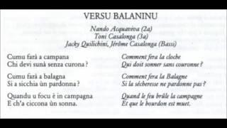 Ensemble Organum - Versu Balaninu