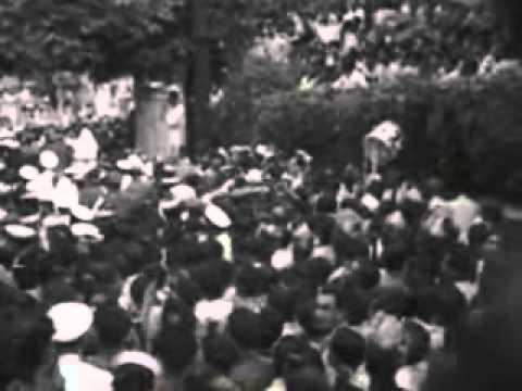 Funeral of Sardar Vallabh Bhai Patel 1950