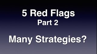5 Red Flags in Volatility XIV Trading  -  Part 2  -  Many Strategies?