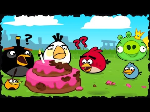 Angry Birds Birdday Party Mobile Game (Level 1-30)