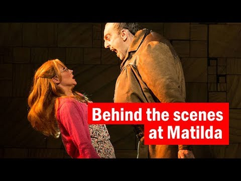 Behind the scenes at Matilda the Musical  | Dressing Room Confessions