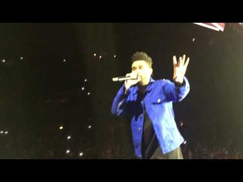 The Weeknd - The Morning, Sidewalks & Crew Love LIVE | Stockholm 17/2-17