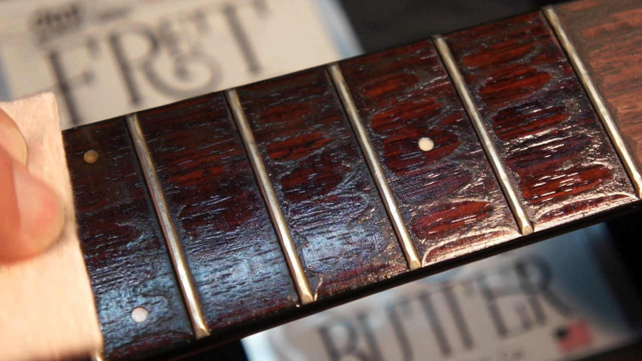 Cleaning Guitar Fretboards : fret butter how to clean and condition rosewood fingerboard polish your guitar frets youtube ~ Vivirlamusica.com Haus und Dekorationen