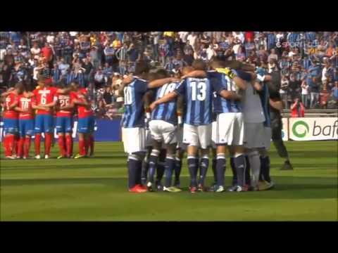 Djurgårdens final game at the Stockholm Stadium
