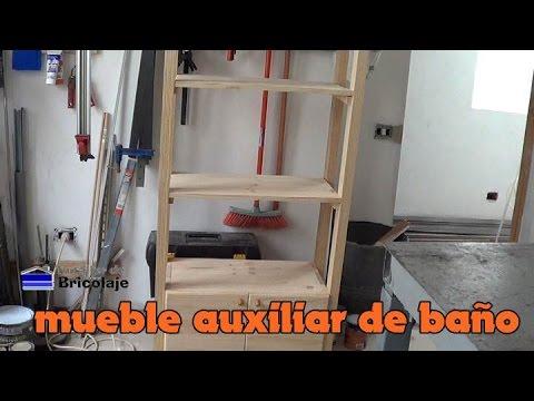 Hacer un mueble de ba o suspendido 1 de 3 doovi - Como hacer un mueble de bano rustico ...