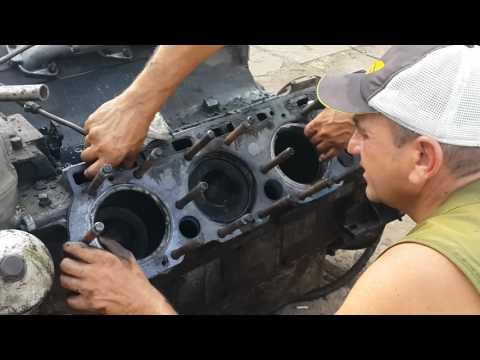 Разбираем двигатель ЯМЗ-238 с комбайна ДОН 1500 Б