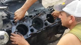Розбираємо двигун ЯМЗ-238 з комбайна ДОН 1500 Б