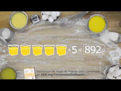 Conversión de huevo de cascarón a huevo líquido