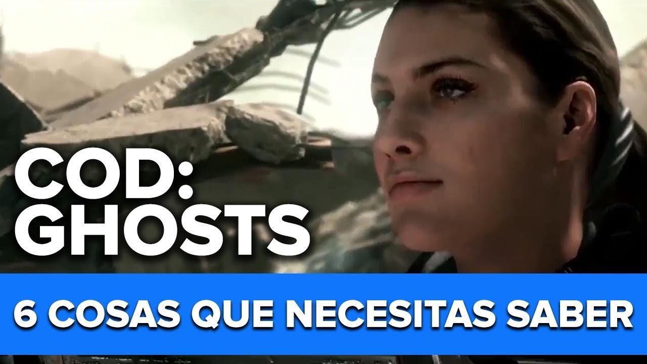 Call of Duty: Ghosts Multijugador: 6 COSAS QUE NECESITAS SABER