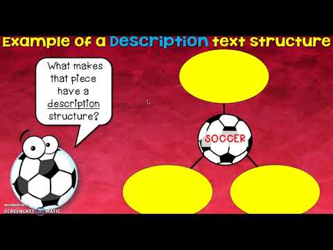 Description Text Structure Notes
