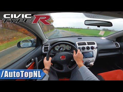 HONDA CIVIC TYPE R EP3   8500RPM Vtec   POV Test Drive by AutoTopNL
