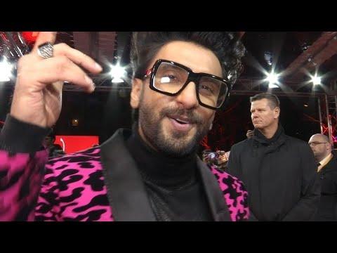 Ranveer Singh Powerful Rap To Gully Boy's Apna Time Aayega At Berlin International Film Festival