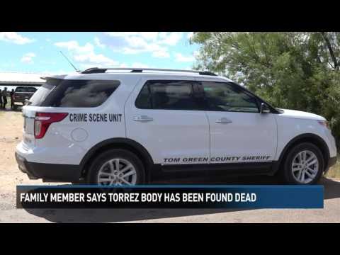 "Body Found ""Consistent"" With Eric Torrez"
