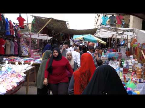 Surround-sound Egyptian Market