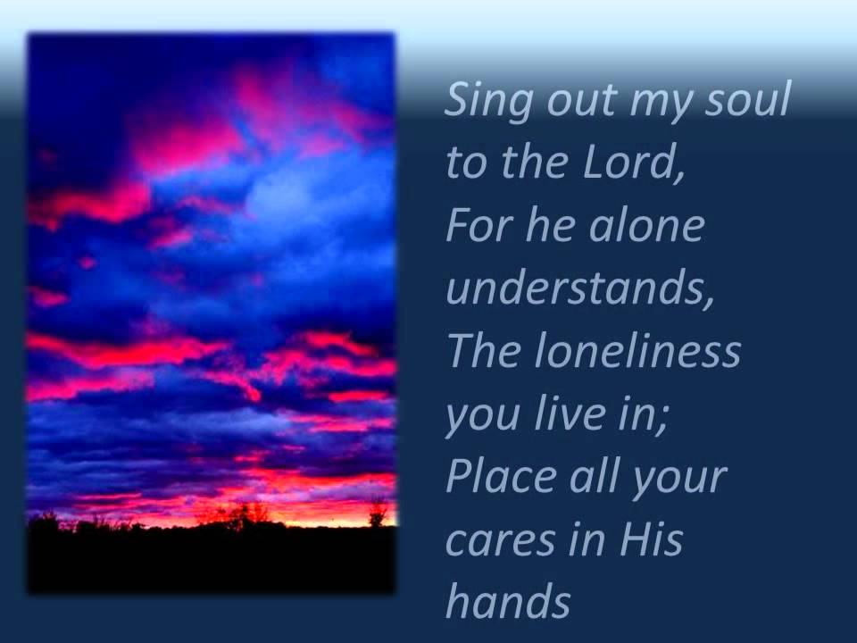 Lyric lyrics to take my hand precious lord : SING OUT MY SOUL Lyrics and Background Vocals.wmv - YouTube
