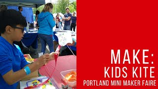 Kites at the Portland Mini Maker Faire 2018