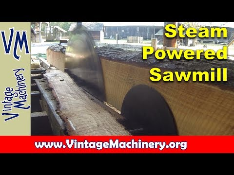 1890's DeLoach Steam Powered Sawmill at the Georgia Museum of Agriculture