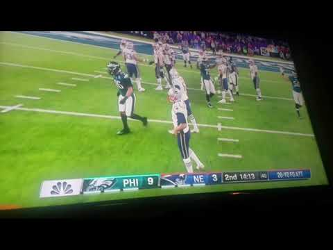 SUPERBOWL LII  Rigged early signs
