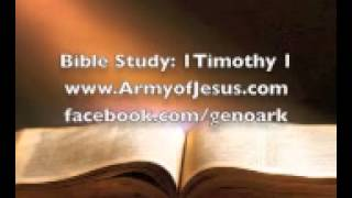 Bible Study 1 Timothy 1 Send believers to satan? Does God punish with sickness?