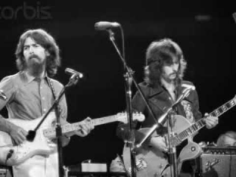 George Harrison & Eric Clapton - While My Guitar Gently Weeps *Rare Live Version