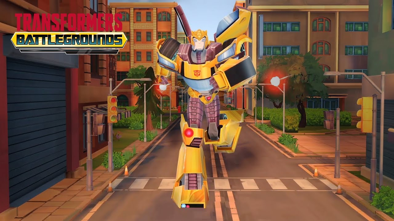 Transformers Cyberverse Battlegrounds Official Gameplay Trailer