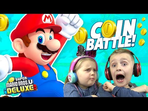 MARIO Family Battle! (New Super Mario Bros. U Deluxe For Nintendo Switch) KIDCITY GAMING
