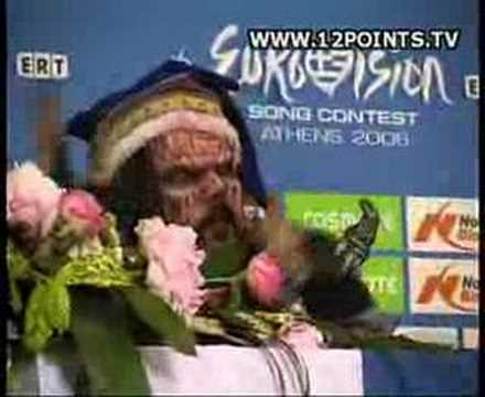 Athens: Lordi's press conference