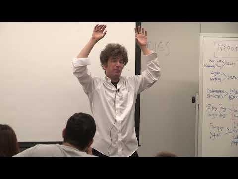 James Altucher, Guest Lecture 8/16/17 Columbia SPS