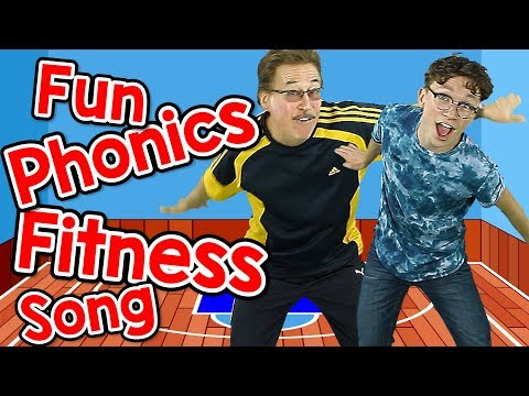 Fun Phonics Fitness Song | Letter Sounds for Kids | Exercise Song | Jack Hartmann