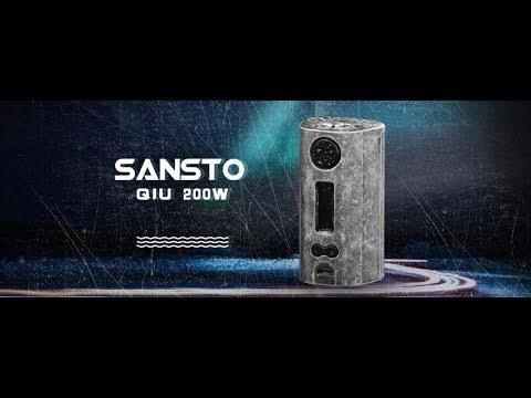 新ブランド第一弾【VAPE】SANSTO QIU 200W【レビュー】