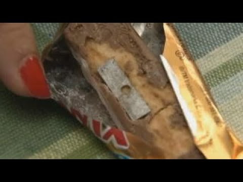 Two people found razor blades in their Halloween candy, Ohio ...