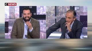 Le face à face tendu entre Yassine Belattar et Éric Zemmour