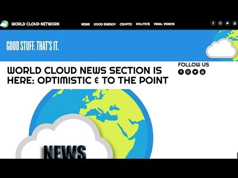A News & Media Website That Doesn't Suck? World Cloud Network Is Here!