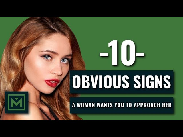 Signs a girl wants you to talk to her