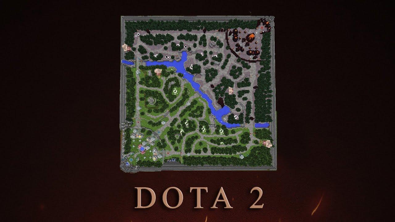 карта доты для minecraft #4