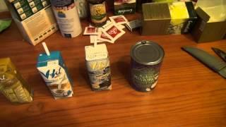 Рисовое и кокосовое молоко