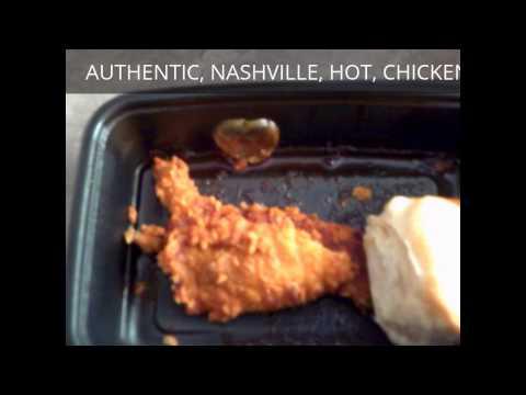 KFC Nashville Hot Chicken Tenders