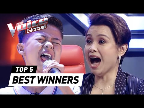 BEST WINNERS' AUDITIONS In The Voice Kids