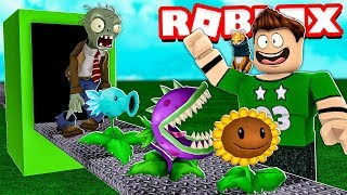 My OWN MANUFACTURE OF PLANTS vs ZOMBIES in ROBLOX!!