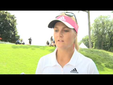 2014 Canadian Pacific Women's Open - Anna Nordqvist - Round 2 Interview
